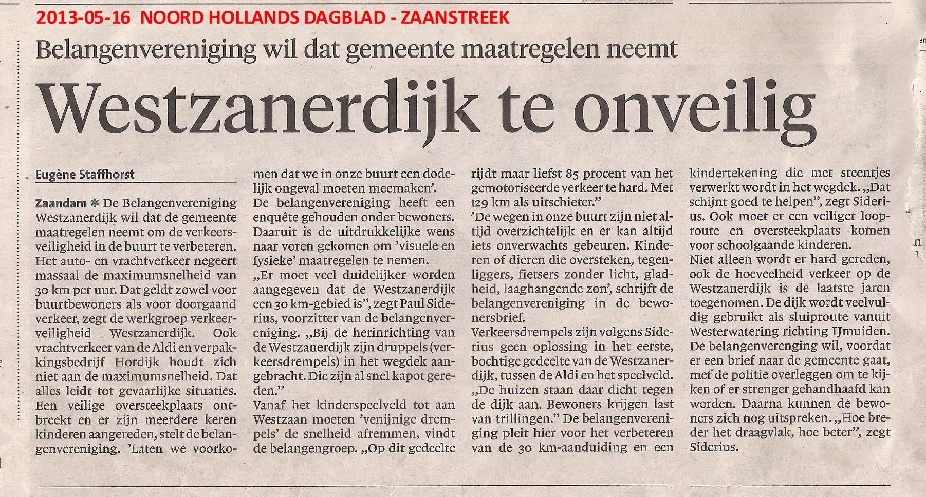 2013-05-16%20NHDagblad,%20Verkeers(on)veiligheid%20Westzanerdijk