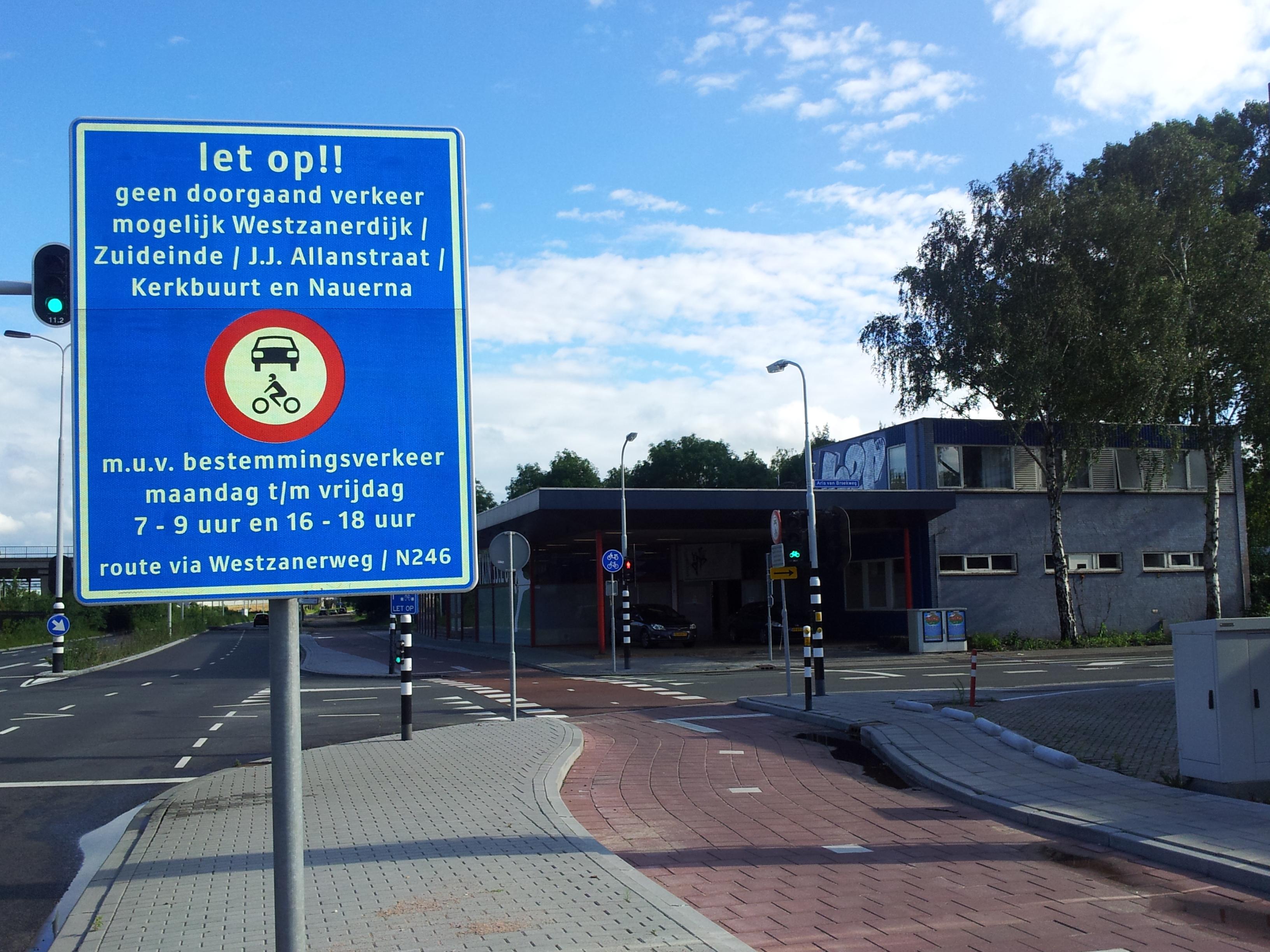 foto verkeersbord bestemmingsgebied 20120708_183556